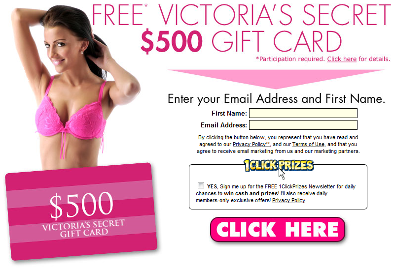 Get a $500 Victoria\'s Secret Gift Card | To celebrate 37 years of ...